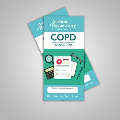 COPD Action Plan (English) - 10 Pack
