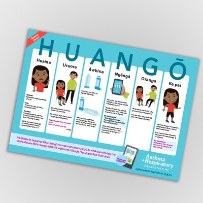 First Aid Poster - Te Reo Māori A3 Poster - 1 Unit.  Resource updated February 2019