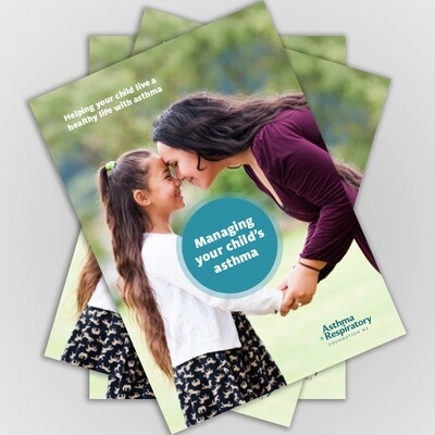 Managing you Child's Asthma Booklet (English) - 5 Pack
