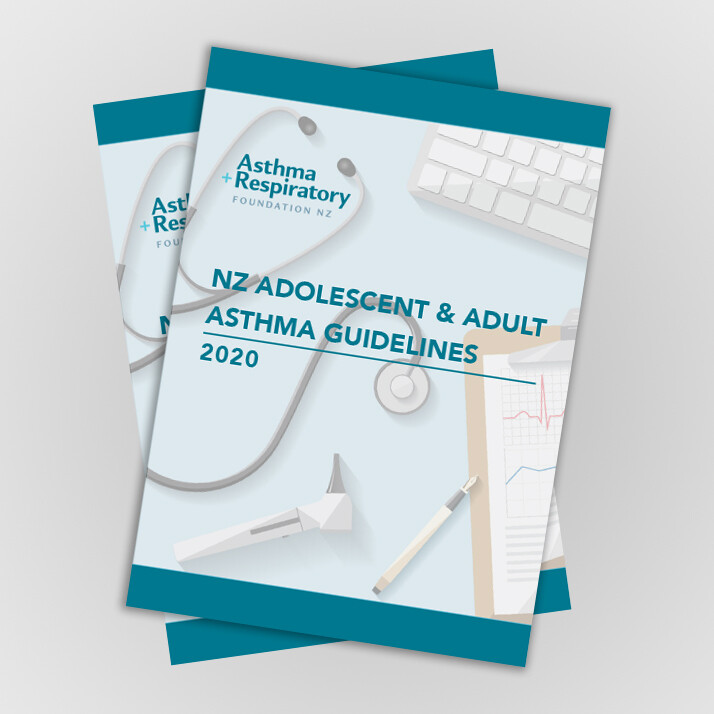 NZ Adolescent & Adult Asthma Guidelines 2020 - 1 Pack