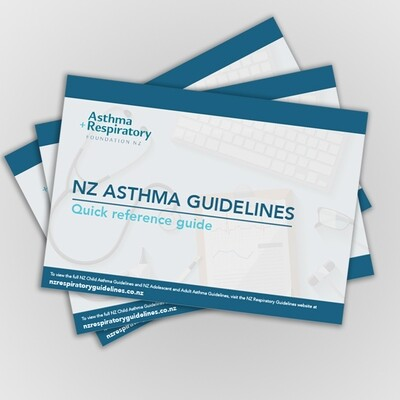 NZ Asthma Guidelines Quick Reference 2020 - 1 Pack