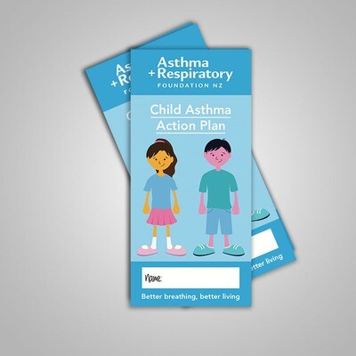Child Asthma Action Plan (English) - 10 Pack