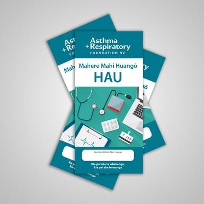 AIR Asthma Action Plan (Te Reo Māori) - 10 Pack