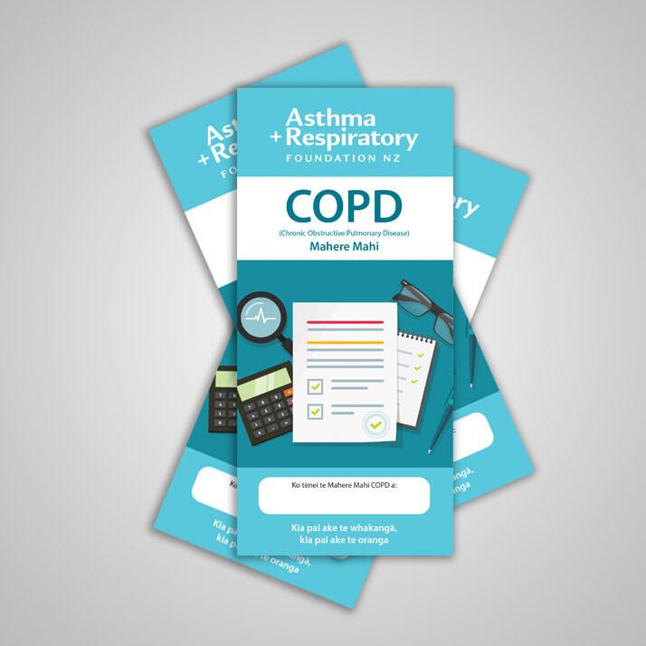 COPD Action Plan (Te Reo Māori) - 10 Pack