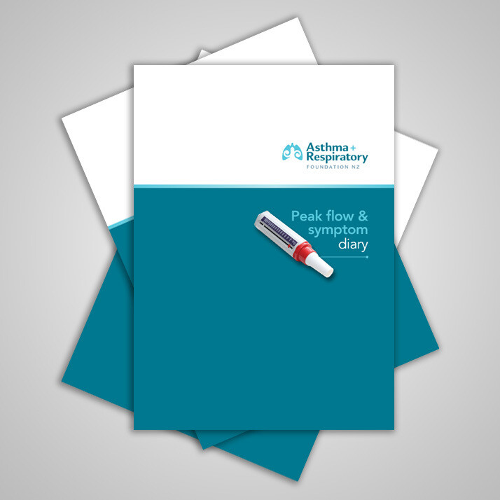 Peak Flow & Symptom Diary - 5 Pack