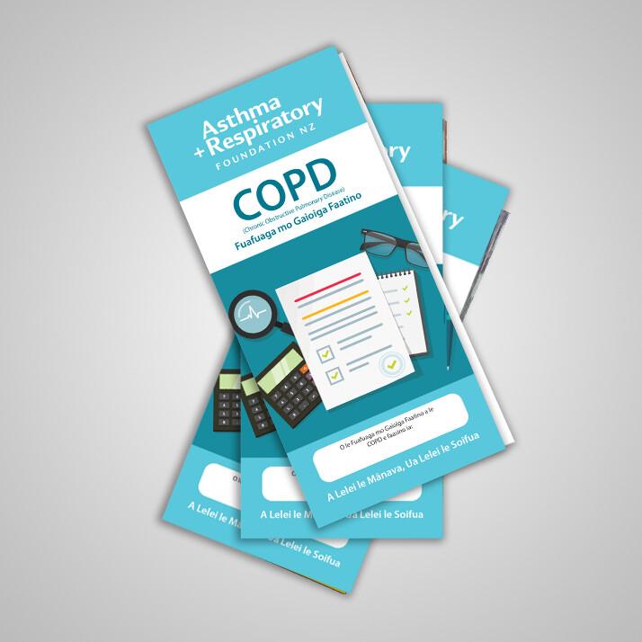 COPD Action Plan (Samoan) - 10 Pack