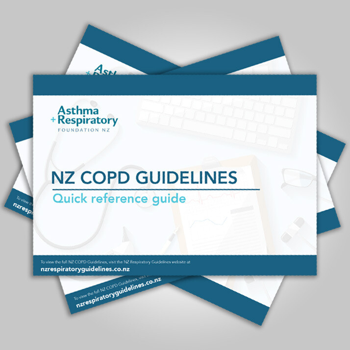 NZ COPD Guidelines: Quick Reference Guide - 1 Pack