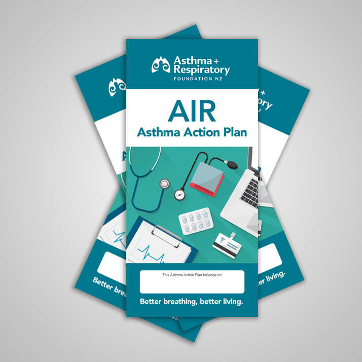 AIR Asthma Action Plan (English) - 10 Pack