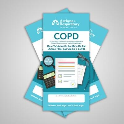 COPD Action Plan (Tongan) - 10 Pack
