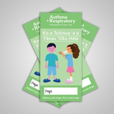Child Asthma Symptom Diary (Tongan) - 10 Pack