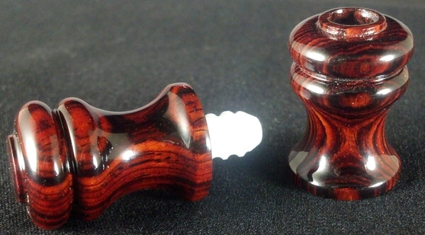 Joint Protector - Maple, Bocote, Cocobolo, or Ebonized (black)