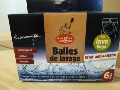 Balle Lavage Anti-Calcaire Lot 6