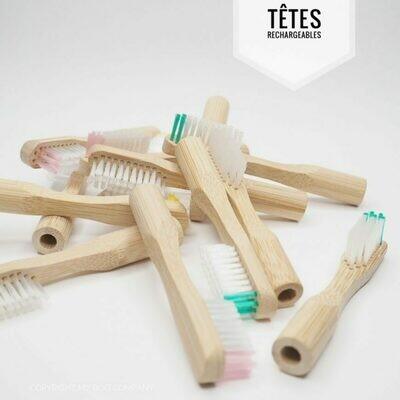Recharge Brosse à Dents - pack de 2