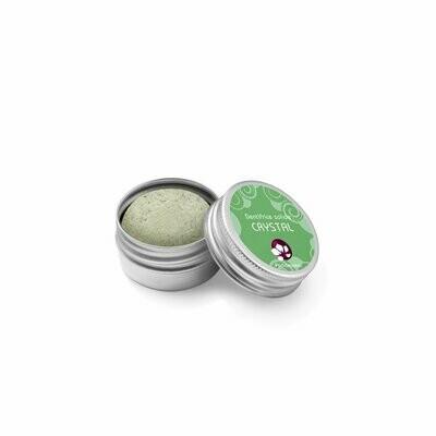 Dentifrice solide Crystal- Boite Métal
