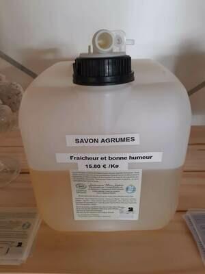 Savon Liquide Agrume