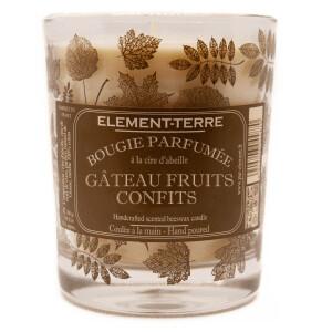 Bougie Gâteau Fruits Confits