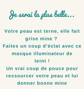 Kit Masque Illuminateur - Ce soir, je serai la plus belle…