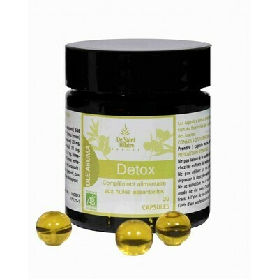 Capsules OLE'AROMA Detox