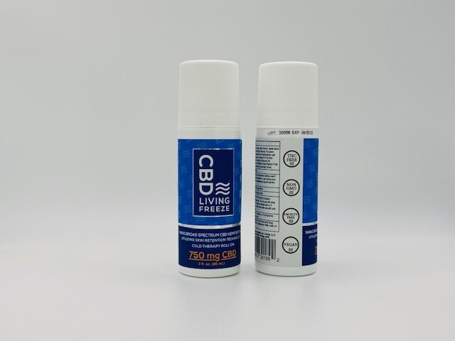 CBD Living Freeze Cold Therapy Roll on 750mg