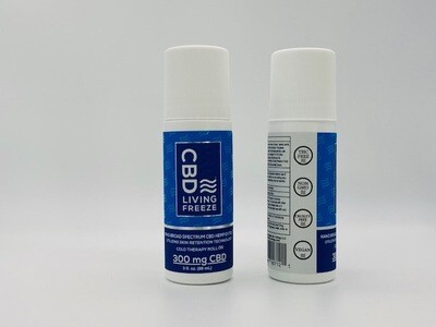CBD Living Freeze Cold Therapy Roll on 300mg