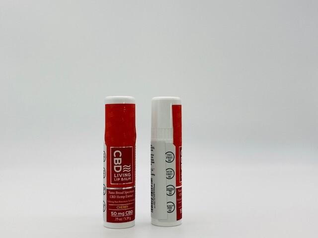 CBD Living Lip Balm Unflavored 50mg
