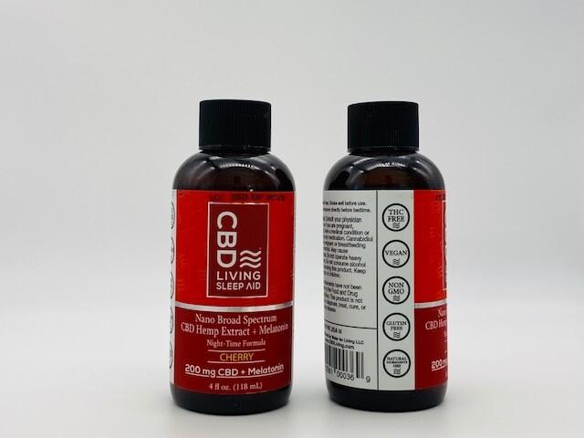 CBD Living PM Syrup Cherry