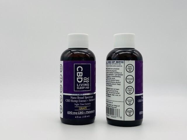CBDL PM Syrup  Grape