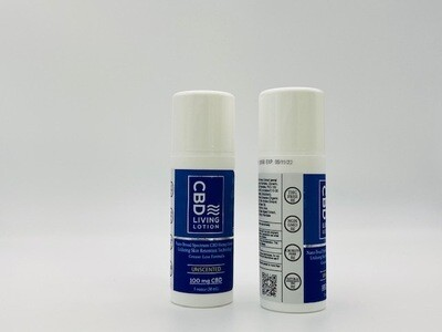 CBD Living Lotion Unscented 100mg