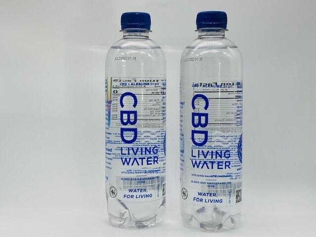 CBD Living Water 10mg Alkaline KOSHER