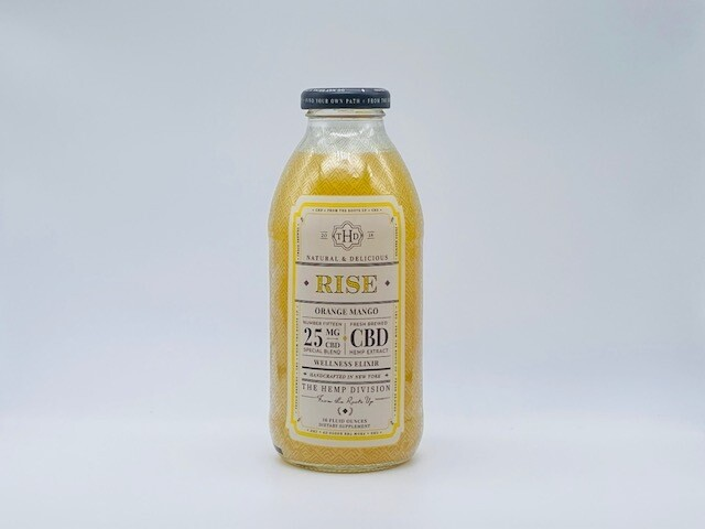 Harney & Sons THD CBD Rise Orange Mango 25mg
