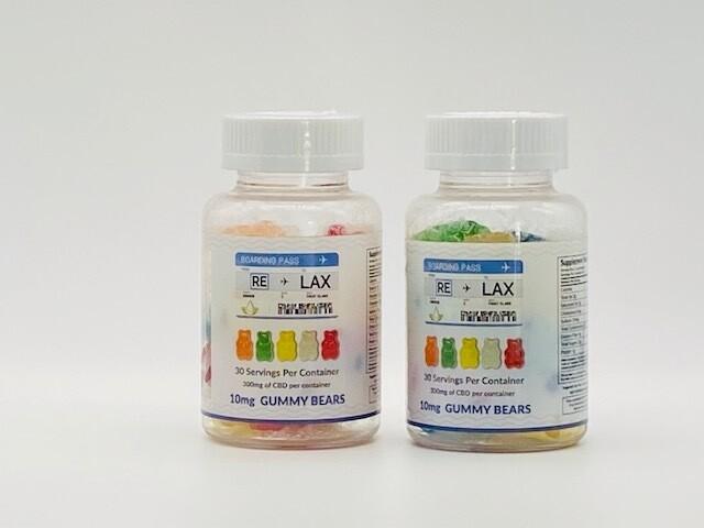 RELAX CBD Gummy Bears 300mg