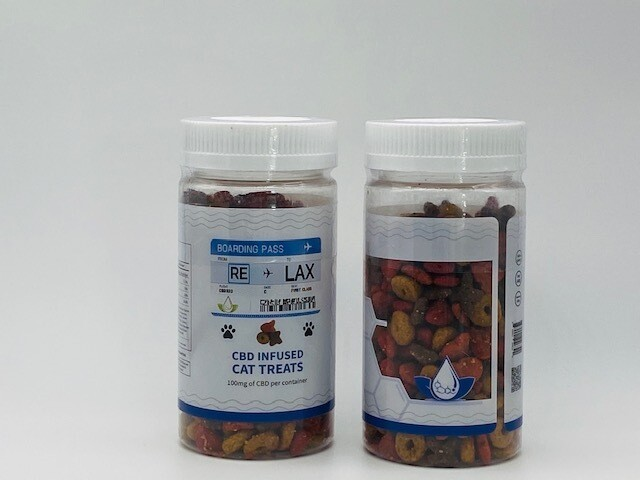 RLX CBD Infused Cat Treats