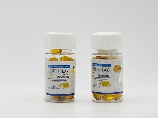 RLX CBD Capsules (300mg)