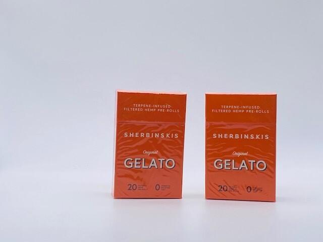 Sherbinskis Gelato Hemp Cigarettes Hempettes