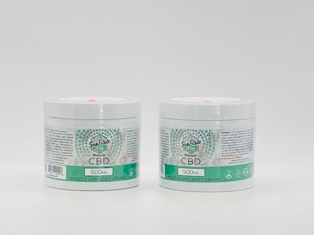 Sun State Hemp CBD Muscle & Joint Cream 500mg