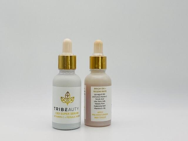 TriBeauty CBD Super Serum Vitamin C