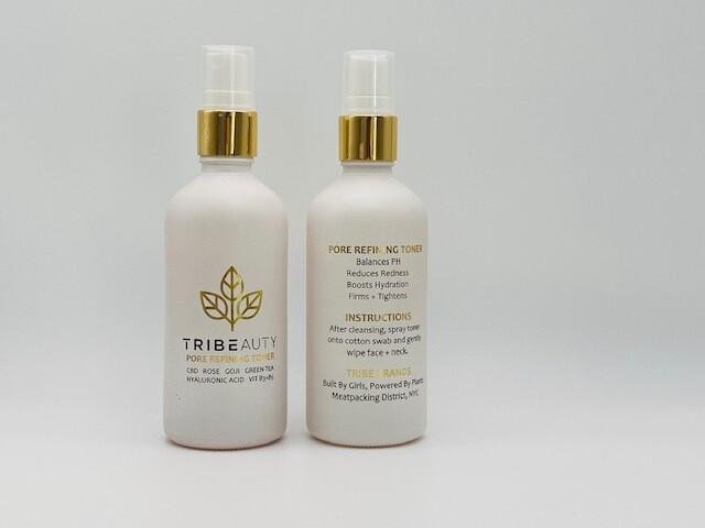 TriBeauty CBD Rose Pore Refining Toner