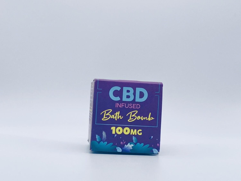 CBD Living Bath Bomb Refresh Coconut Lime 100mg