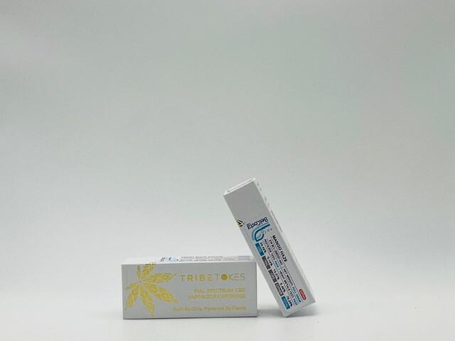 TribeTokes CBD/CBG Vape Cartridge Mango Haze Full Gram