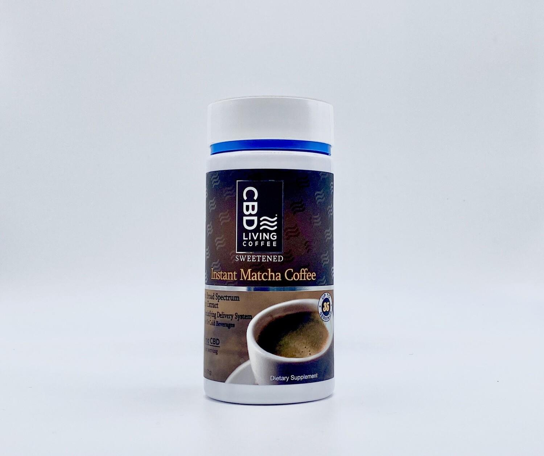 CBD Living Instant Matcha Coffee