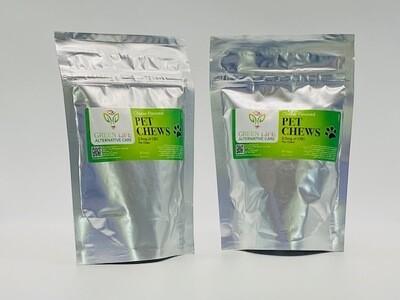 Green Life Pet Chews CBD 2.5mg