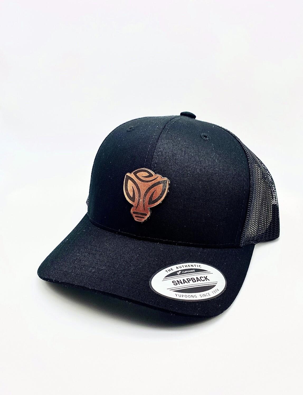 Green Life All Black Snapback Hats