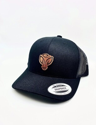 GLAC All Black Snapback Hat