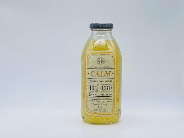 "HS THD CBD ""Calm"" Turmeric Ginger Honey (10mg)"