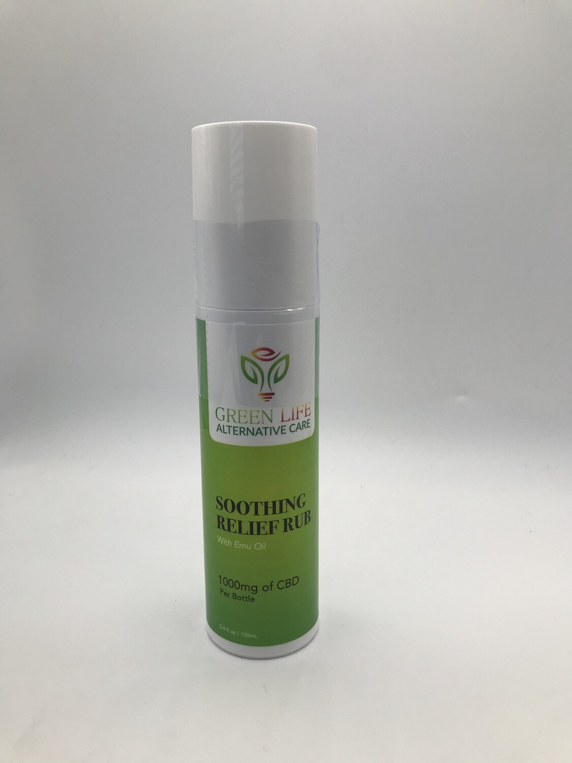 GLAC intensive Relief Rub with Emu Oil 1000mg