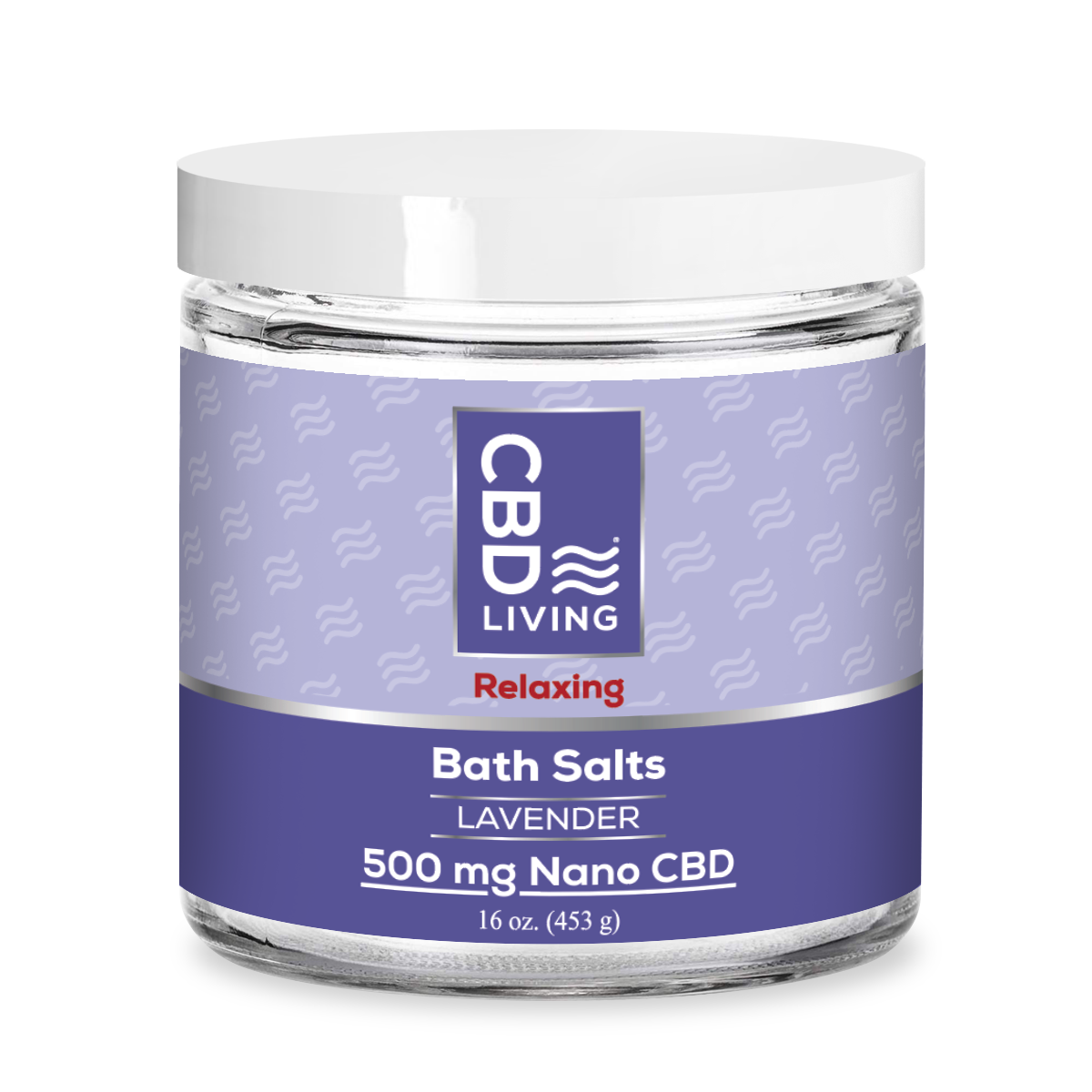 CBDL Lavender Bath Salts 500mg