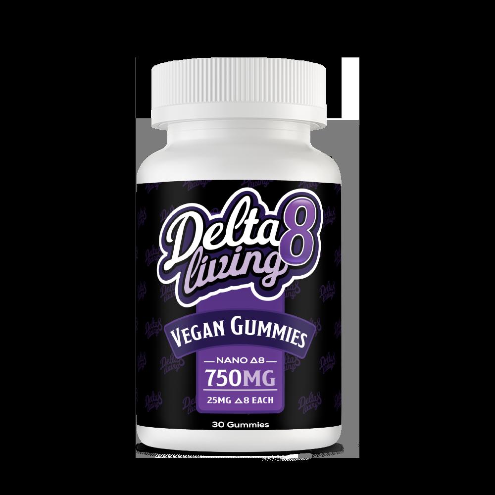 Delta 8 Vegan Gummies 750mg