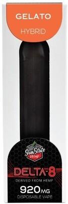 SSH Delta 8 Disposable Gelato 920mg