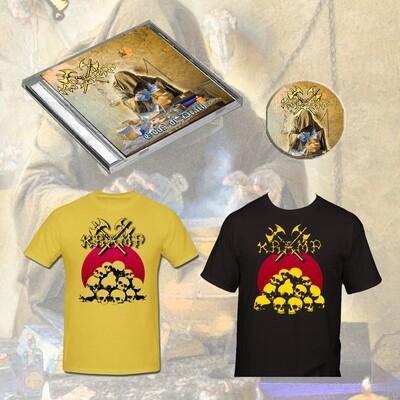 CD Bundle (CD + T-Shirt + Badge)