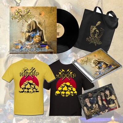 GET THEM ALL - BUNDLE (Vinyl + CD + T-shirt + Tote Bag